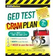 Cliffsnotes Ged Cram Plan by Shukyn, Murray; Krull, Achim K.; Shuttleworth, Dale E., Ph.D., 9780544234444