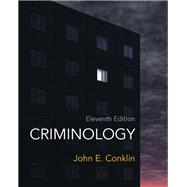 Criminology by Conklin, John E., 9780132764445