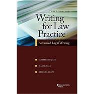 Writing for Law Practice by Fajans, Elizabeth; Falk, Mary; Shapo, Helene, 9781609304447