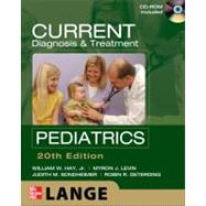 CURRENT Diagnosis and Treatment Pediatrics, Twentieth Edition by Hay, William; Levin, Myron; Deterding, Robin; Sondheimer, Judith, 9780071664448