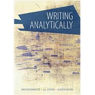 Writing Analytically (with 2016 MLA Update Card) by Rosenwasser, 9781337284448