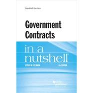 Government Contracts in a Nutshell by Feldman, Steven, 9781634594448