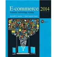 E-Commerce, 2014 by LAUDON & TRAVER, 9780133024449
