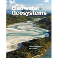Elemental Geosystems Plus MasteringGeography with eText -- Access Card Package by Christopherson, Robert W.; Birkeland, Ginger, 9780321984449