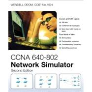 CCNA 640-802 Network Simulator by Odom, Wendell, 9781587204449