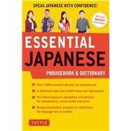 Essential Japanese Phrasebook & Dictionary by Tuttle Publishing, 9784805314449