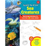 Learn to Draw Sea Creatures by Cuddy, Robin, 9781600584459