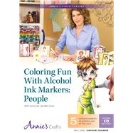 Coloring Fun With Alcohol Ink Markers: People by Dove, Jennifer, 9781573674461