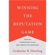 Winning the Reputation Game by Dowling, Grahame R., 9780262034463