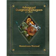 Premium 2nd Edition Advanced Dungeons & Dragons Monstrous Manual by WIZARDS RPG TEAM, 9780786964468