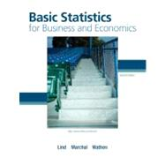 Basic Statistics for Business and Economics with Formula Card by Lind, Douglas; Marchal, William; Wathen, Samuel, 9780077384470