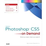 Adobe Photoshop CS5 on Demand by Johnson, Steve; Perspection Inc., 9780789744470