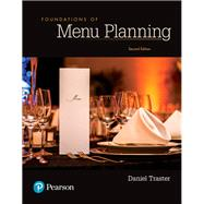 Foundations of Menu Planning by Traster, Daniel, 9780134484471