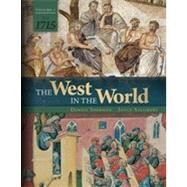 The West in the World Vol 1 to 1715 by Sherman, Dennis; Salisbury, Joyce, 9780077504472