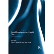 Social Development and Social Work: Learning from Africa by Butterfield; Alice K., 9781138944473