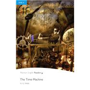 Time Machine, The, Level 4, Pearson English Reader Book with Audio CD by WELLS, 9781408294475
