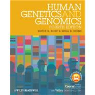 Human Genetics and Genomics, Includes Wiley E-Text by Korf, Bruce R.; Irons, Mira B., 9780470654477
