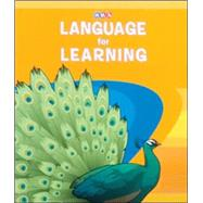 Language for Learning, Series Guide by Unknown, 9780076094479