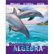 Beginning Algebra by Miller, Julie; O'Neill, Molly; Hyde, Nancy, 9780073384481