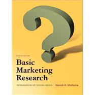 Basic Marketing Research by Malhotra, Naresh K., 9780132544481