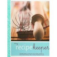 My Recipe Keeper by Biggs, Fiona, 9781407524481