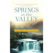 Springs in the Valley by Cowman, Charles E., Mrs., 9780310354482