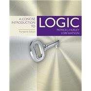 Bundle: A Concise Introduction to Logic, Loose-Leaf Version, 13th + LMS Integrated MindTap® Philosophy, 1 term (6 months) Printed Access Card, 13th Edition by Hurley/Watson, 9781337594486