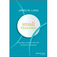 Small Teaching by Lang, James, 9781118944493