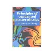 Principles of Condensed Matter Physics by P. M. Chaikin , T. C. Lubensky, 9780521794503