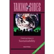 Taking Sides : Clashing Views in Sustainability by Taylor, Robert, 9780073514505