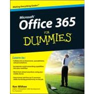 Microsoft Office 365 for Dummies by Withee, Ken; Reed, Jennifer, 9781118104507