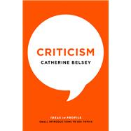 Criticism by Belsey, Catherine, 9781781254509