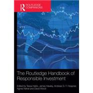 The Routledge Handbook of Responsible Investment by Hebb; Tessa, 9780415624510