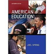 American Education by Spring, Joel, 9780078024511