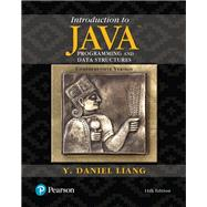Introduction to Java Programming and Data Structures, Comprehensive Version Plus MyLab Programming with Pearson eText -- Access Card Package by Liang, Y. Daniel, 9780134694511