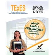 Texes Social Studies 7-12 232: Teacher Certification Exam Guide by Wynne, Sharon, 9781607874515