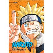 Naruto (3-in-1 Edition), Vol. 8 Includes vols. 22, 23 & 24 by Kishimoto, Masashi, 9781421564517