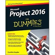 Project 2016 for Dummies by Snyder, Cynthia, 9781119224518