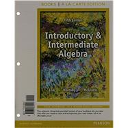 Introductory and Intermediate Algebra, Books a la Carte Edition Plus NEW MyMathLab with Pearson eText -- Access Card Package by Lial, Margaret L.; Hornsby, John; McGinnis, Terry, 9780321914521