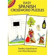 Easy Spanish Crossword Puzzles by Stanley Appelbaum and Nina Barbaresi, 9780486274522