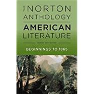 NORTON ANTHOL.OF AMER.LIT,SHORTER,V.1 by Unknown, 9780393264524