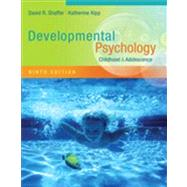 Developmental Psychology Childhood and Adolescence by Shaffer, David R.; Kipp, Katherine, 9781111834524