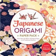Japanese Origami Paper Pack More than 250 Sheets of Origami Paper in 16 Traditional Patterns by Unknown, 9781435164529