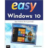 Easy Windows 10 by Soper, Mark Edward, 9780789754530