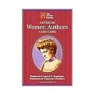 American Women Authors Card Game by U S Games Systems, 9781572814530