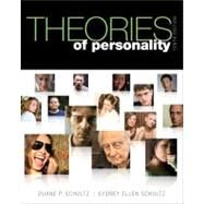 Theories of Personality by Schultz, Duane P.; Schultz, Sydney Ellen, 9781111834531