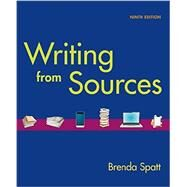 Writing From Sources by Spatt, Brenda, 9781457674532