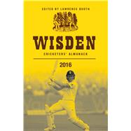 Wisden Cricketers' Almanack 2016 by Booth, Lawrence, 9781472924544