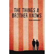 The Things a Brother Knows by REINHARDT, DANA, 9780375844553