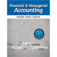 Bundle: Financial & Managerial Accounting, 12th + CengageNOW Printed Access Card, 12th Edition by Warren/Reeve/Duchac, 9781285584553